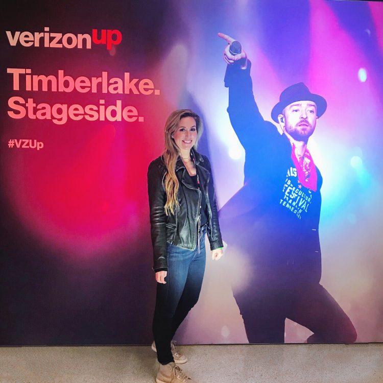 Justin Timberlake VerizonUp