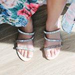 anthropologie sparkling sandal rhinestone