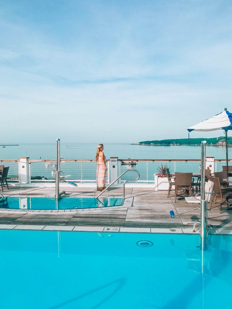 Beauport Hotel Gloucester Rooftop Pool Brianne Johanson