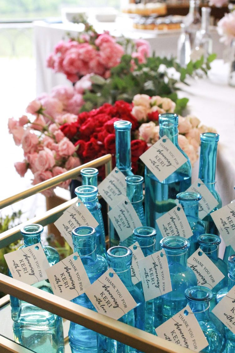 flower bar bridal shower