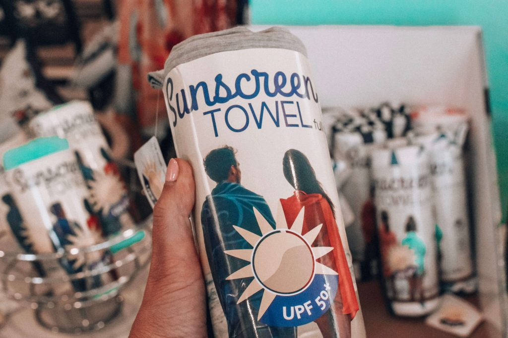 Sunscreen Towel