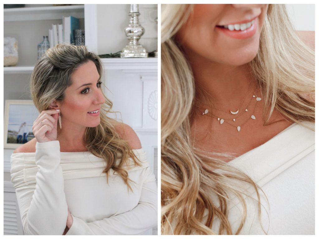 Brianne Johanson E.B. Horn jewlery earrings and necklaces holiday entertaining