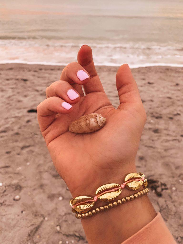 Shell Bracelet Etsy