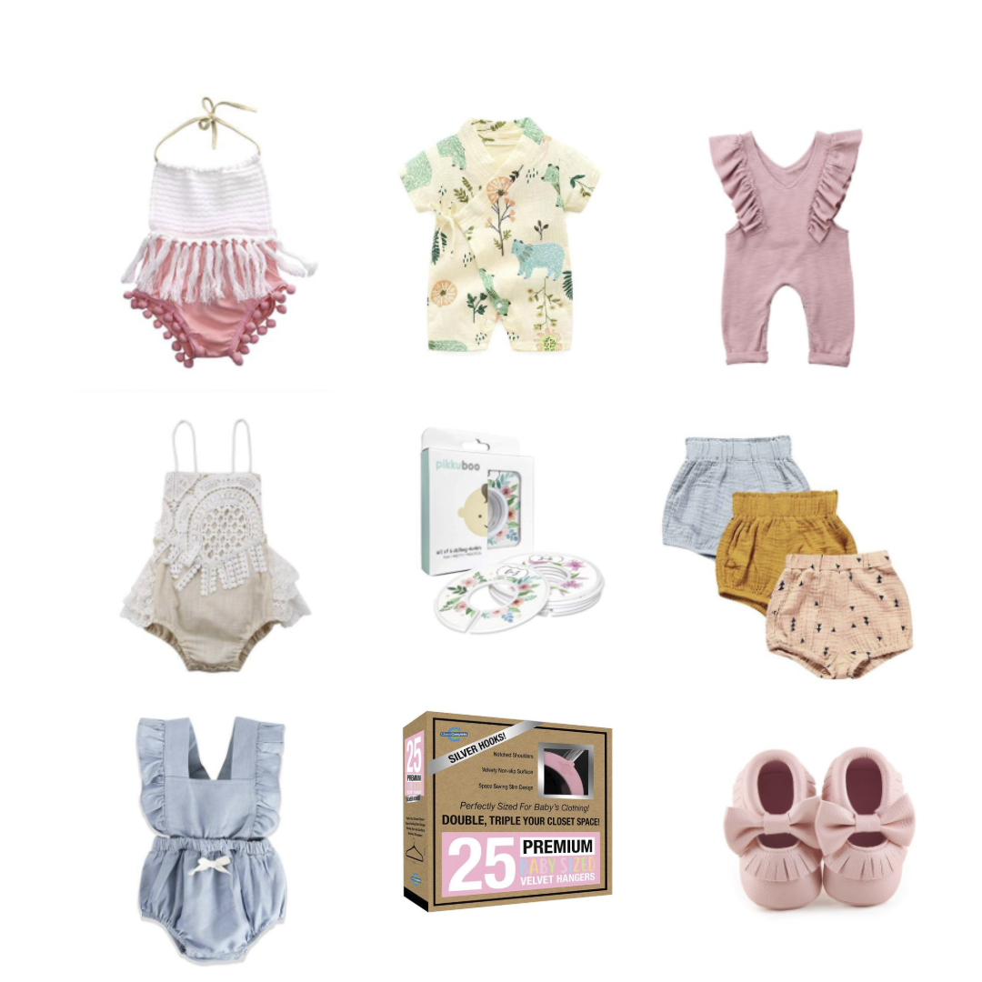 Baby Girl Newborn Amazon Fashion Finds Brianne Johanson
