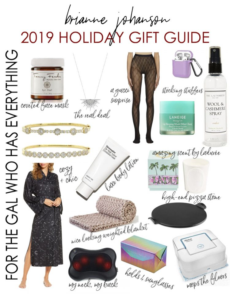Holiday Gifts for the Woman Who Has Everything